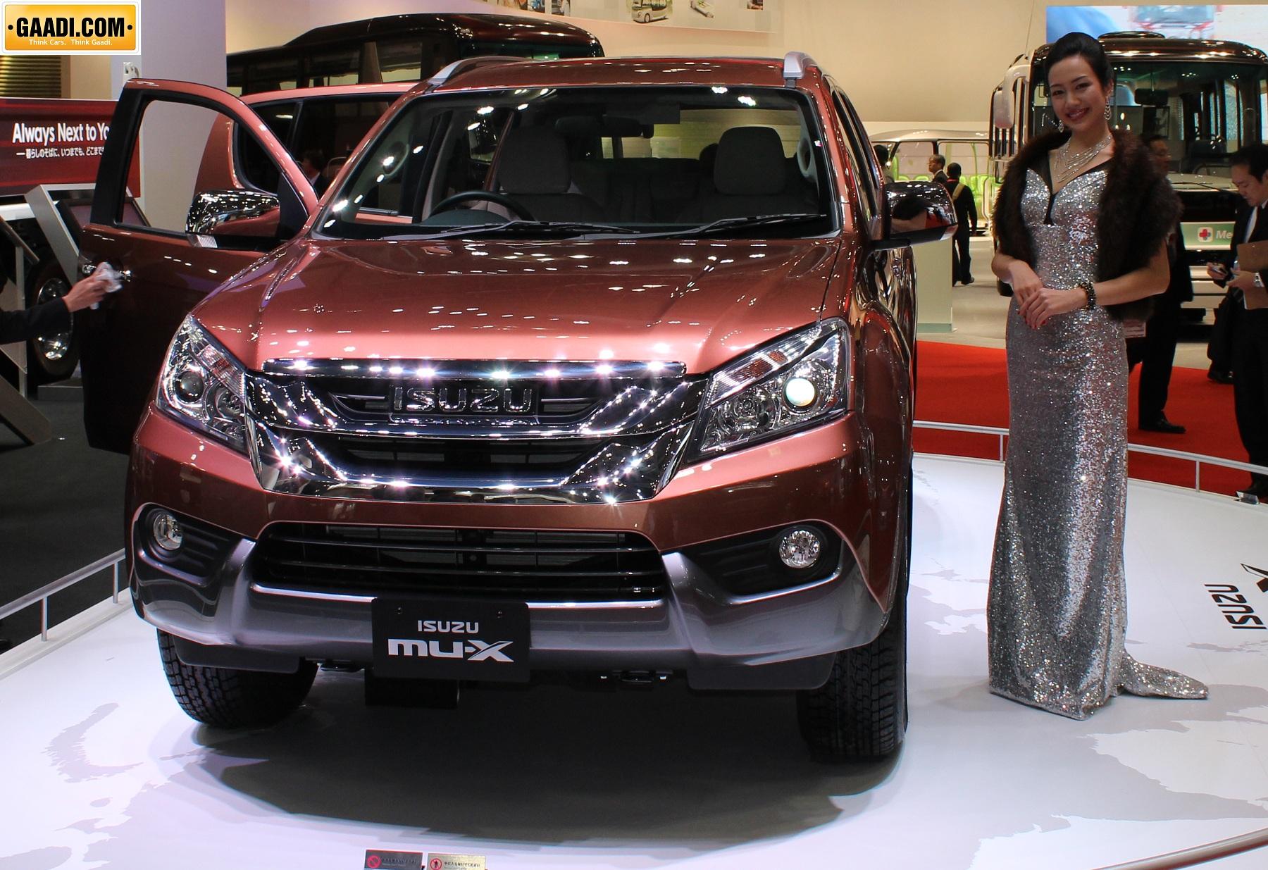 Isuzu Mux India | Autos Post