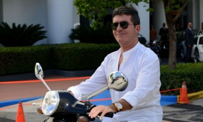 Simon+Cowell+on+his+scooter