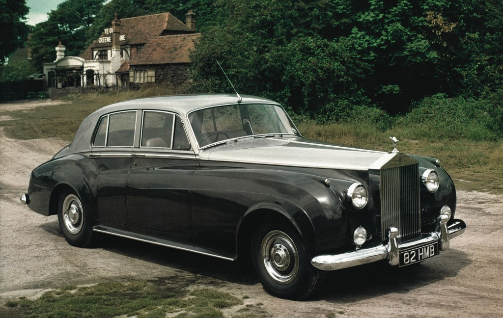 Mobil Donald Trump Rolls-Royce Silver Cloud 1950
