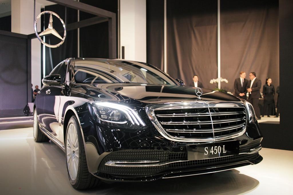 Mercedes-Benz S-Class 450 L