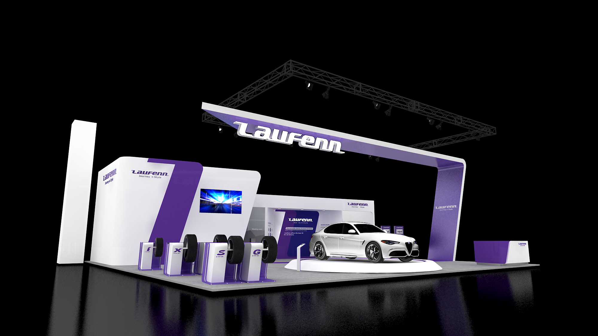 2017 Laufenn Booth at SEMA