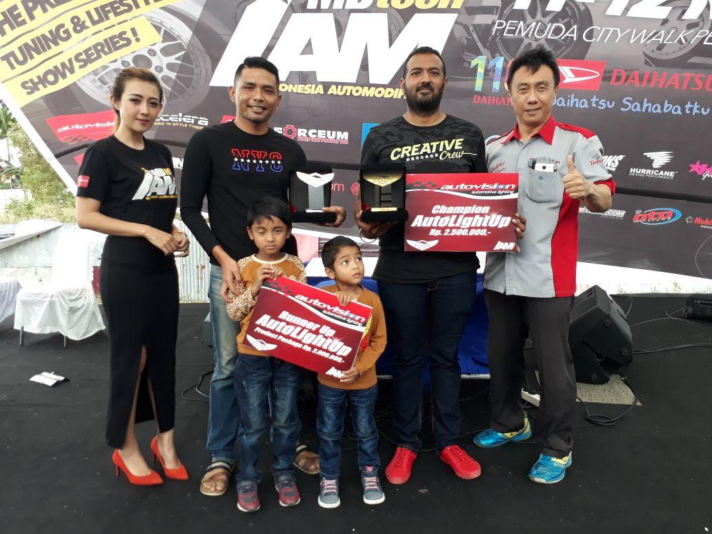 Autovision AutoLight Up Contest 2017 Pekanbaru