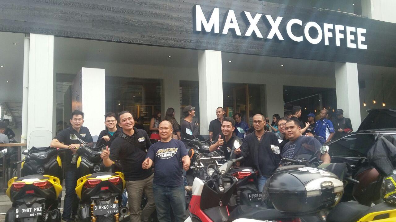 Kolaborasi Maxi Yamaha dengan Maxx Coffee (2)