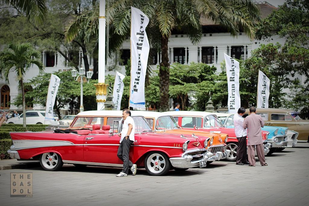 Parade Mobil Klasik Indonesia di HUT PPMKI Ke-38