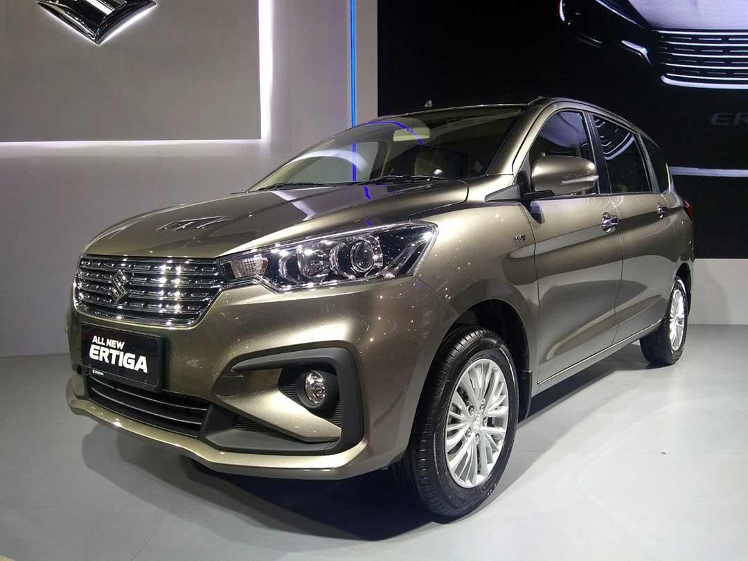 Eskterior Suzuki Ertiga 2018
