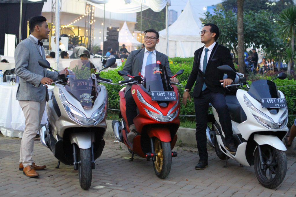 Honda PCX Scooter Ride