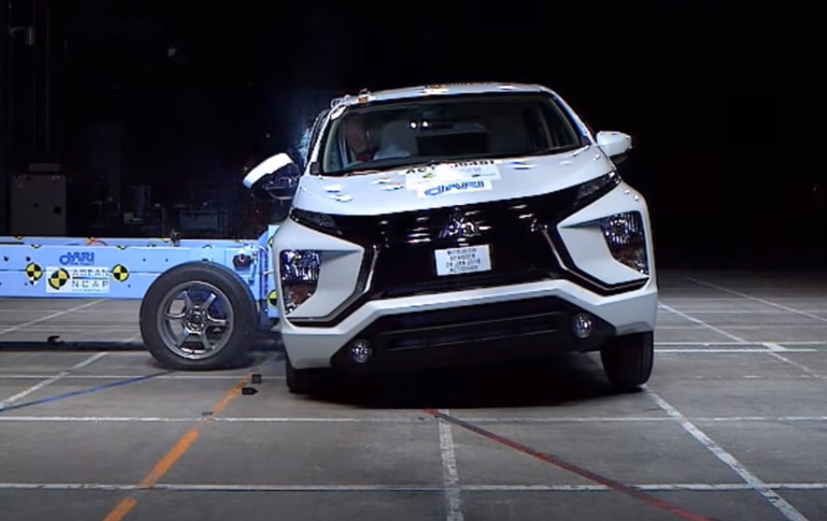 Crash Test Mitsubishi XPander