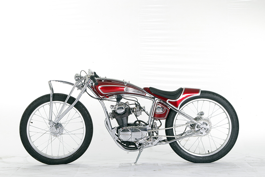 Custom Honda CB 100 Boardtracker Poidum SML Medan